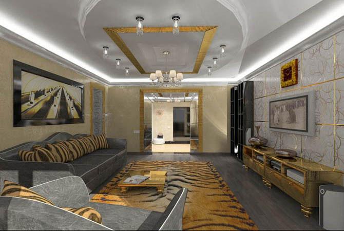 примеры дизайн проект однокомнатный квартиры